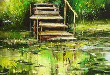 Lépcső tó