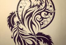 Dessin Tribal et Traditionnel