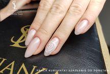 kształty użytkowe / Praca wykonana przez kursantkę na szkoleniu od podstaw.  #słowiankakoszalin #szkolenia #kursy #magdalenatraks #słowianka #paznokcie #koszalin #manicure #nails #nail.
