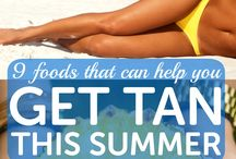 foods for getting tan