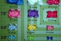 Hair Bows / Hair Bow DIY / by Salina Jeffcoat