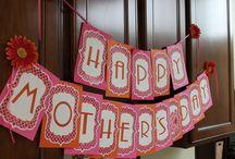 Decoração para dia das mães
