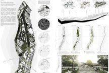 Panels. Urbanisme.
