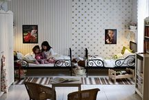 Shared bedrooms / by Frederique T