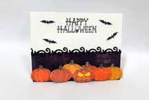 Joy Clair - Happy Halloween / Cards and Projects using our Halloween Stamp Collection. www.joyclair.com