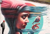 Mural artworks