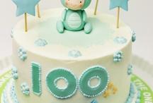 100days baby cake