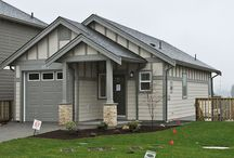 The Galiano at Westhills / This 1,342 sq. ft. homes has 3 bedrooms, 3 bathrooms and a large rear deck.