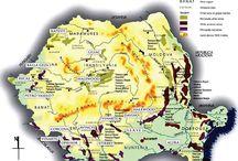 Romania - wine maps