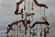legni di mare decorati