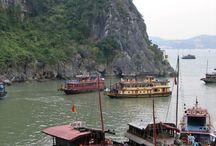 Vietnam / Vietnams hisnande landskap och vänliga människor gör att det står i bräschen på alla resenärers lista över platser att upptäcka i Asien. Från det bergiga norra till bördiga risterrasser i söder där tropiska stränder kramar den kurviga kusten ges stora möjligheter till minnesvärda upplevelser
