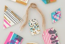 Wrap It / Gift wrap ideas, cards, festive wrapping papers