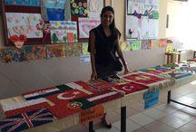 Carpet Company Products at School fair / Okul Sergisinde Kilim Şirketi ürünlerimiz