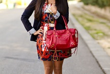 "Fashion&Style: Scarf print / by ""Outfit Ideas, by Chicisimo"" Fashion iPhone App"