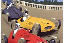Old Race Poster / by Pieter Van Der Velden
