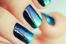 Mermaids, hair, makeup and nails