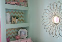Mint/pink theme