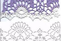 crochet - sploty ażurowe