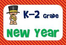 New Year's Day Ideas / New Year's Day Ideas for kindergarten to second grade