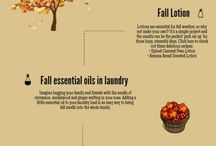 Fall Fragrances and Recipes / DIY fragrances and Recipes to make your home smell cozy for fall.
