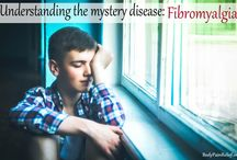 Fibromyalgia / Fibromyalgia is a chronic disorder characterized by widespread musculoskeletal pain, fatigue, and tenderness in localized areas.