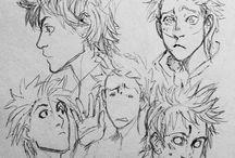 Design personaje ; expression study ~male~