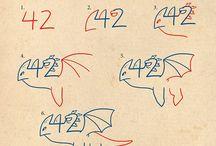 Draken tekeningen