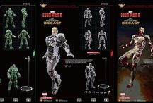 Action figures and movie replicas
