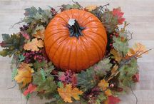 Decorate for fall / To dress up your thanksgiving table