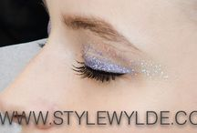 Holiday  Makeup ideas / Inspiration for a glittering holiday season, some fun, some far-out all worth checking out
