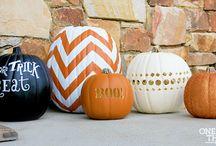 Halloween and pumpkins!