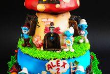 birthday cakes / cars