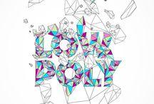 Typography / 글자,타이포그래피,디자인