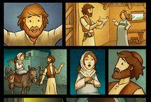 bibliai képregények