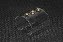 Azaran acrylic bracelets / Beautiful hand made  acrylic cuff bracelets