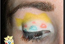 Reto Poke makeup / Looks del reto Poke makeup que podéis ver en mi blog: http://mispotingadasymas.blogspot.com.es/