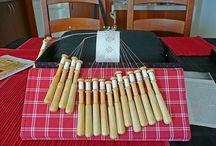 Bobbin lace tools