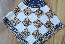 Fendi Roma Ilaty 1925 Handkerchief