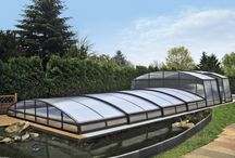VARIABLE pool enclosures / Fully variable swimming pool enclosures made by Alukov a.s., member of IPC Team