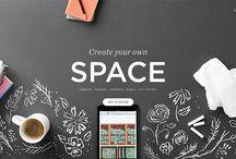 Web Design Inspiration / Some great design examples from our web design inspiration Monday feature