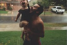Daddy and daughrer