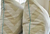 DIY pillows / by Claudia Palmieri