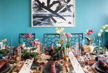 Tablescapes / Styling inspiration for table settings and festive decor