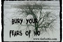 Spooky Go for No! Reminders / Spooky Go for No! images to remind you to fail your way to success and never, ever give up.