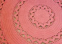 Πλεκτά χαλακια - crochet tapete