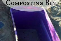 Compost underground