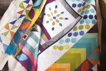 Quilts - round robin / by Cindy Peterson