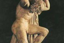 art / sztuka inspirowała okoliczne kultury, min śródziemnomorską Najważniejsze były bóstwa: Atlas, Posejdon i bogowie wojny