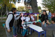 """Tageszentrum """"La Paloma"""" / Das Kinderhilfswerk Dritte Welt e.V. unterstützt das Tageszentrum """"La Paloma"""" im Westen von Buenos Aires. Im Mai 2016 feierte es sein 30-jähriges Bestehen mit einer großen Feier. """"La Paloma"""" zeichnet sich für seine Filmprojekte und die sportlichen Aktivitäten in der Nachmittagsbetreuung aus.  Mehr: https://khw-dritte-welt.de/tageszentrum-la-paloma-feiert-30-jaehriges-bestehen/"""