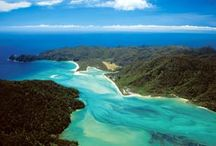 Tasman Bay, New Zealand / Some of Gourmet Sailing's favourite destinations in our home region - Tasman Bay, at the top of the South Island of New Zealand.
